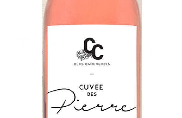 Cuvée des Pierre rosé, Clos Canereccia